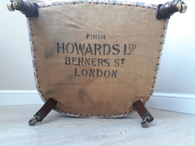 Howard & Sons Woodstock Armchair for sale